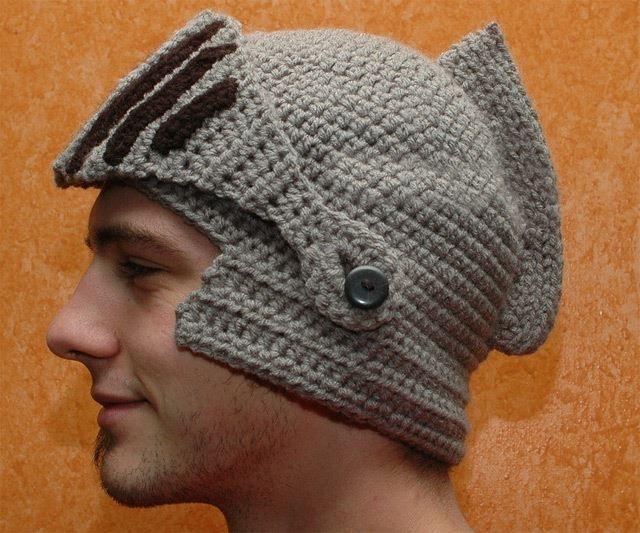 騎士の兜帽子
