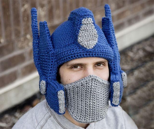 ガンダム風の帽子