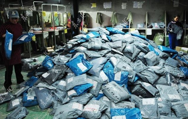 中国の宅配便 物流