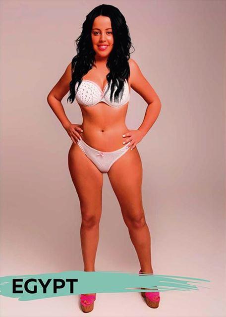 エジプト人が魅力的と感じる女性の容姿