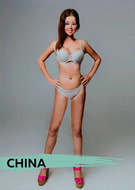 中国人が魅力的と感じる女性の容姿
