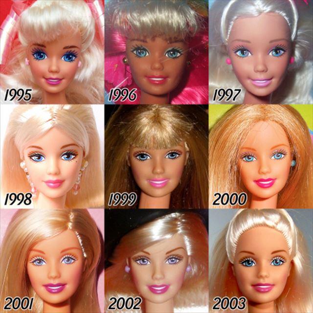 バービー人形の歴史1995-2003