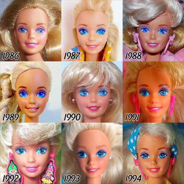 バービー人形の歴史1986-1994