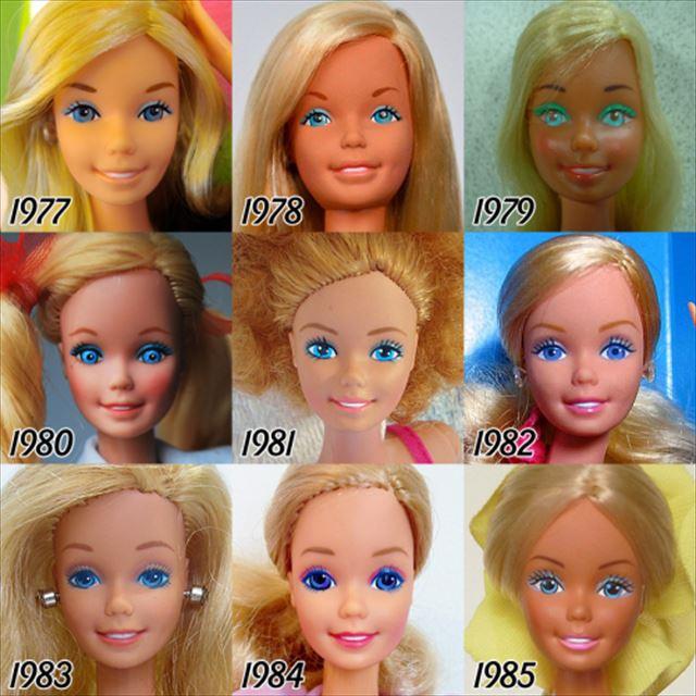 バービー人形の歴史1977-1985