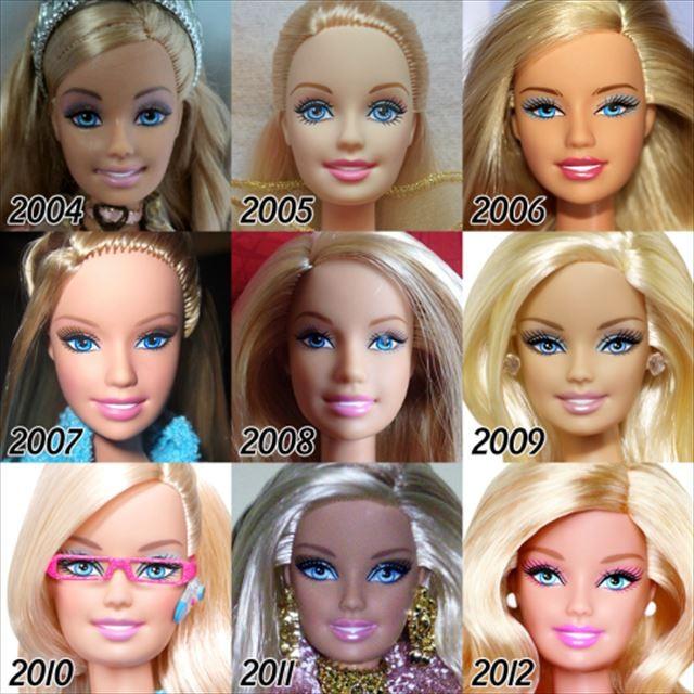 バービー人形の歴史2004-2012