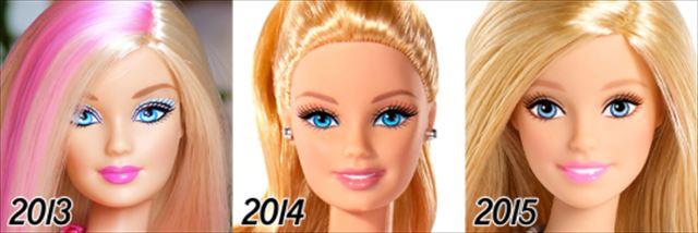 バービー人形の歴史2013-2015