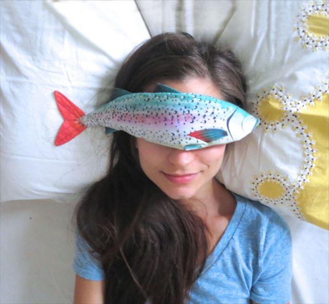 魚のアイピロー使用例