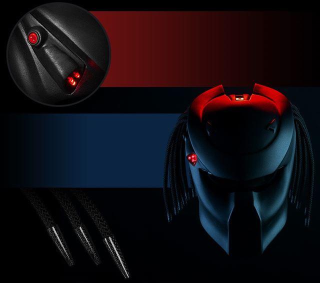 プレデターのヘルメット