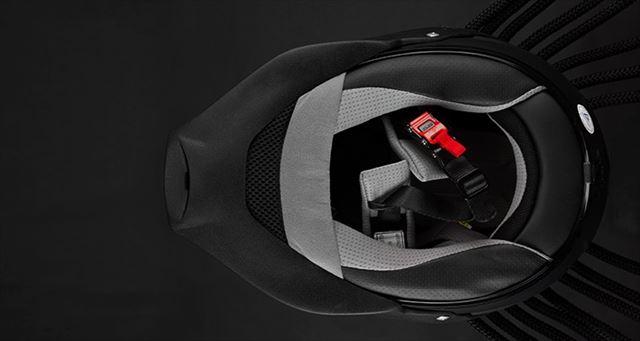 プレデターのヘルメットの内部構造