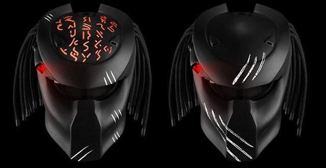 プレデターのヘルメットのカラーバリエーション