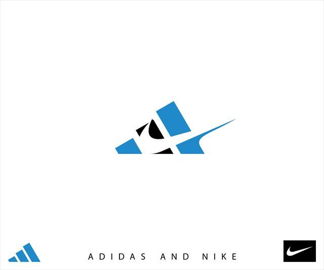 NIKE(ナイキ)とadidas(アディダス)のロゴ
