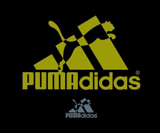PUMA(プーマ)とadidas(アディダス)のロゴ