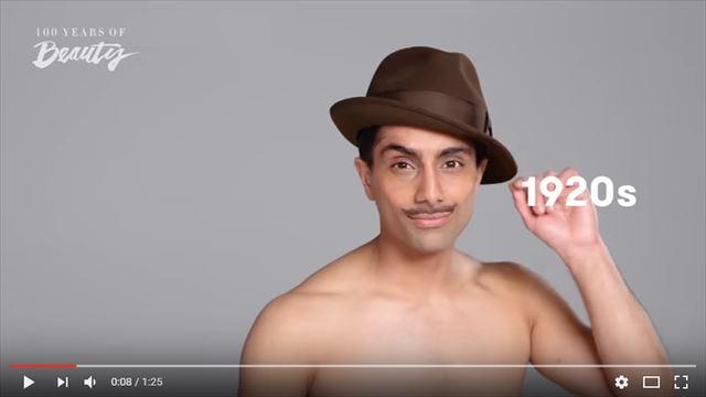 インド人男性の美容変遷1920年