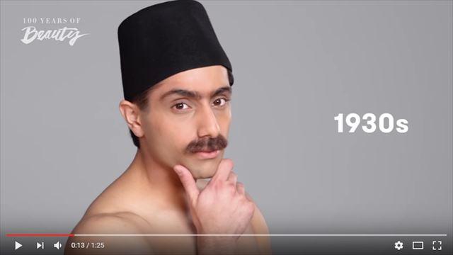 インド人男性の美容変遷1930年