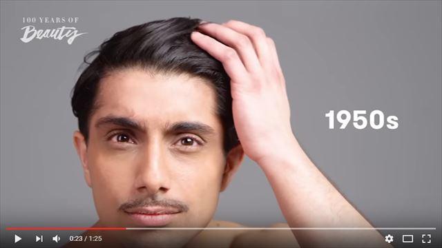 インド人男性の美容変遷1950年