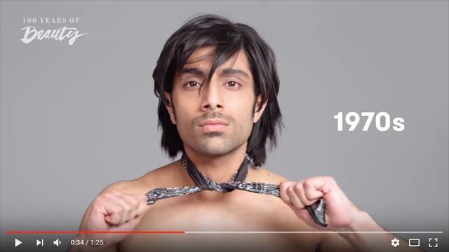 インド人男性の美容変遷1970年