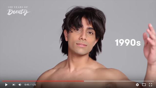 インド人男性の美容変遷1990年