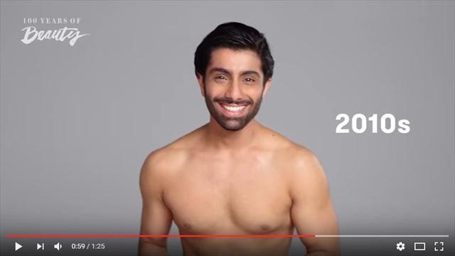 インド人男性の美容変遷2010年