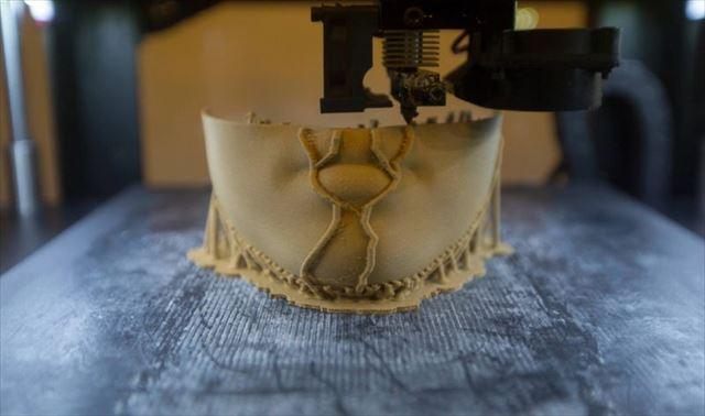 3Dプリンターで顔を復元1