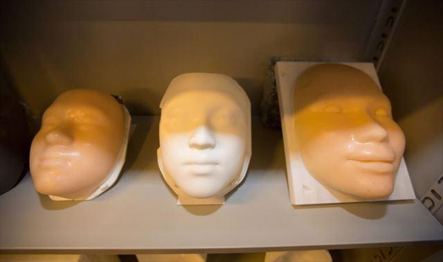 3Dプリンターで顔を復元3