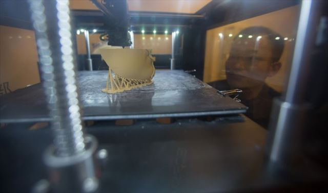 3Dプリンターで顔を復元4