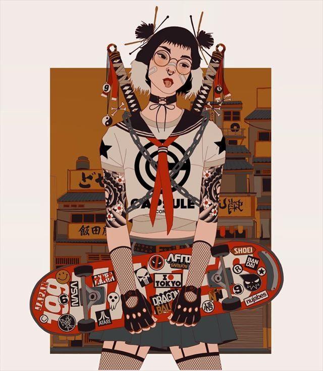 アルゼンチンアーティストMau Lencinas