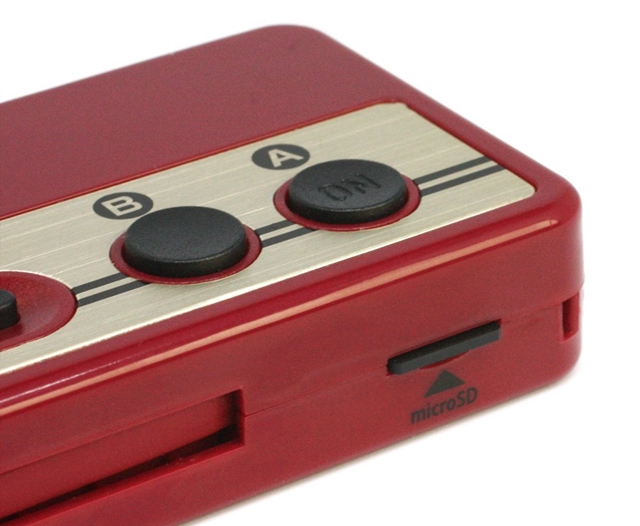 ファミコン風モバイルバッテリー レトコンバッテリー カードリーダー