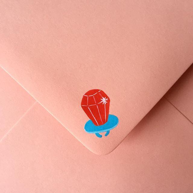 可愛い封筒(指輪)