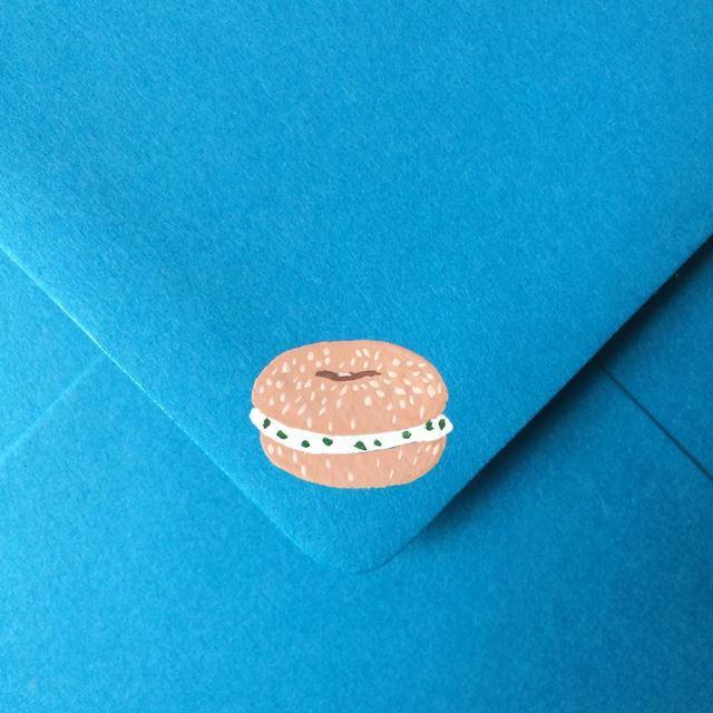 可愛い封筒(ドーナツ)