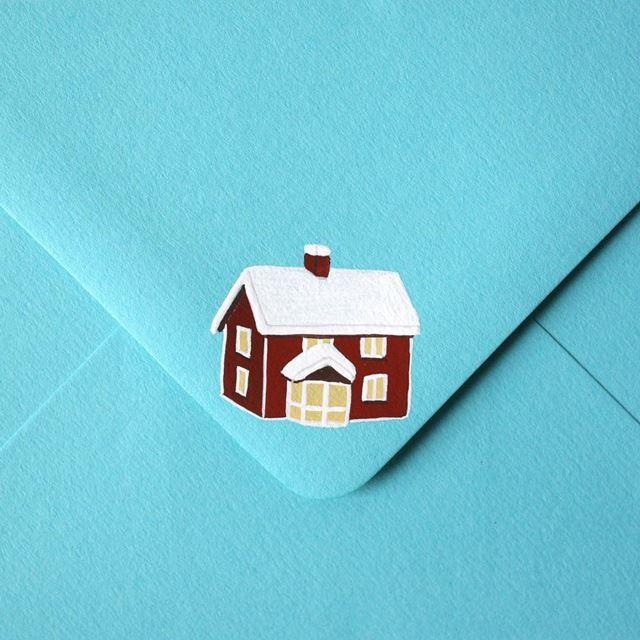 可愛い封筒(家)
