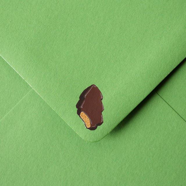 可愛い封筒(チョコ)