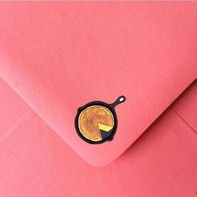 可愛い封筒(ホットケーキ)