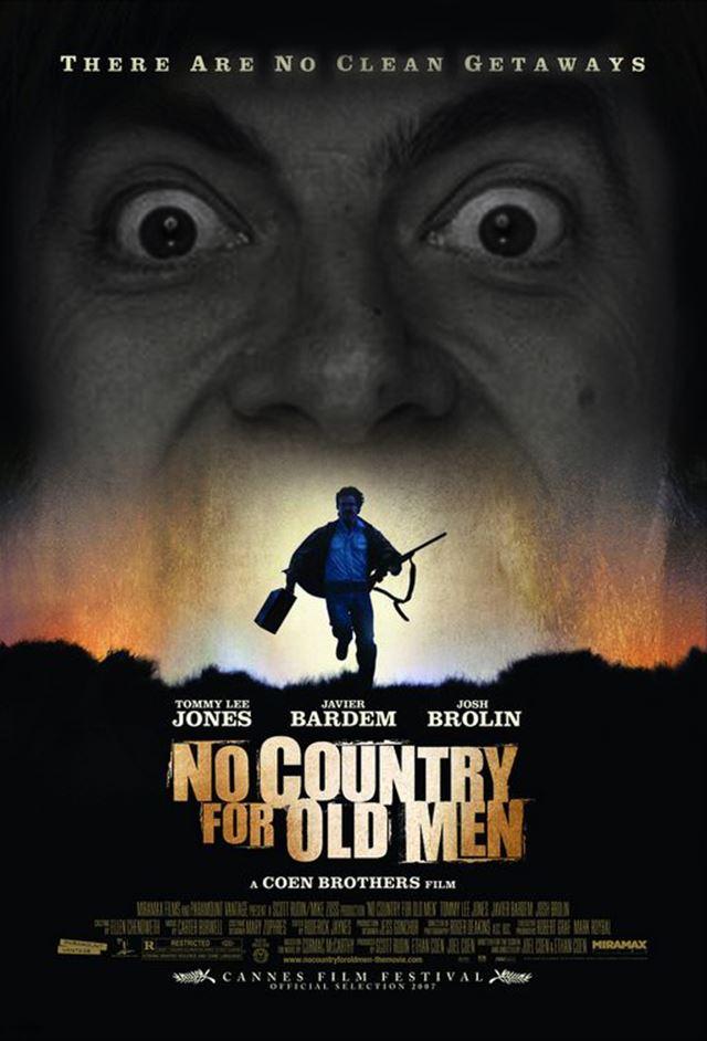 Mr.ビーンのコラ画像 映画ノーカントリーフォオールドマン