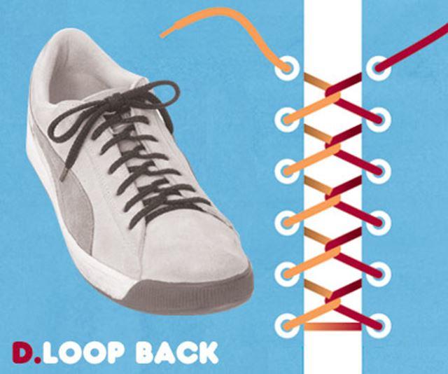 靴紐の結び方 / ループバック結び