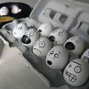 卵アート 簡単な顔の絵を書くだけで卵の世界観が面白い【エッグアート画像】