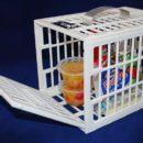 冷蔵庫の物を勝手に食べられるのを防ぐフリッジロッカー【面白アイテム】