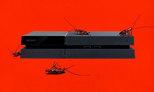 PS4はゴキブリの巣に最適だがゴキブリによるPS4故障は修理対象外!?