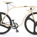 7万ドルの木製ピストバイクが美しいトーネット・バイシクル