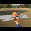 天空の城ラピュタのドーラ一家愛用フラップターが空を飛ぶ!!40秒で支度しな!