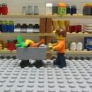 LEGOセールでLEGOを買いそびれるLEGOのアニメーション