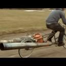 超ハイテンションなジェットエンジン自転車