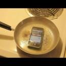 iphoneを茹でると壊れる事を証明する動画