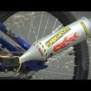 自転車をバイクのように変える画期的なオモチャ(Turbospoke / ターボスポーク )